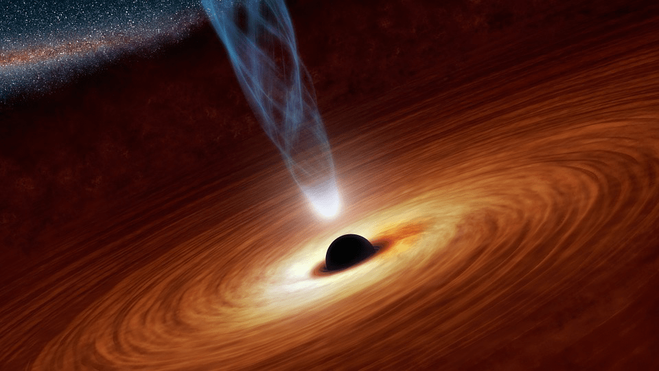 Black Holes and Solar Flares